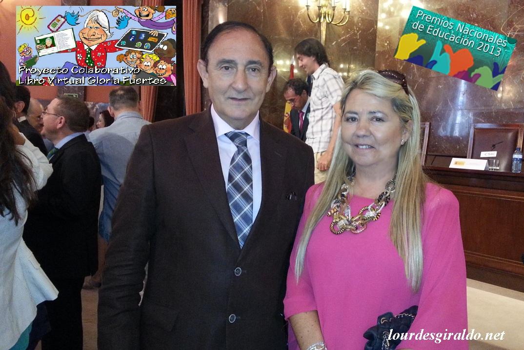 Con D. Ángel de Miguel Casas , Director General de Formación Profesional